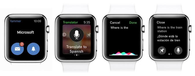 Microsoft brings Outlook and Translator to your smartwatch