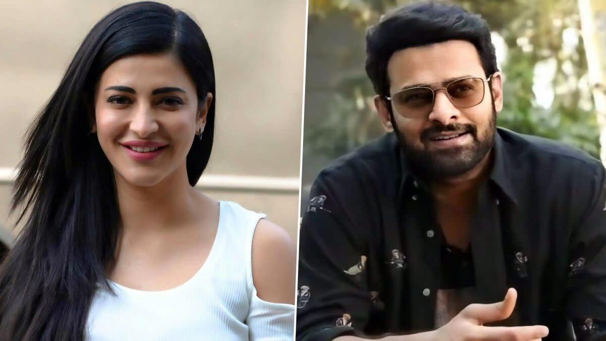Salaar: Shruti Haasan Roped In To Play the Female Lead Opposite Prabhas!