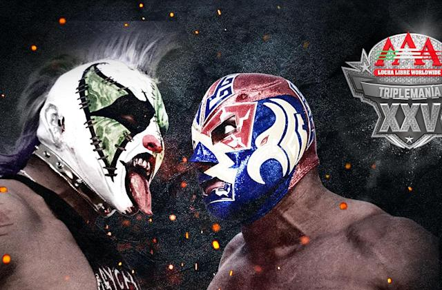 Lucha Libre will stream 'Triplemania XXV' on Twitch