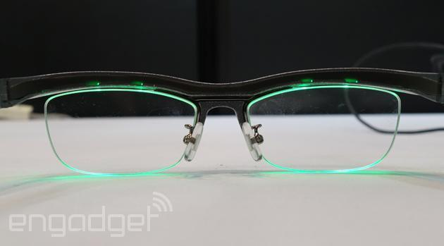 Ambient glasses put smartphone notifications right in front of your eyes