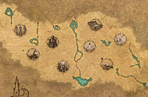 The Elder Scrolls Online's interactive map nabs a Craglorn update
