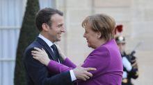 Macron, Merkel promise EU reform roadmap by June