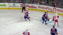 Henrik Zetterberg sets up Todd Bertuzzi