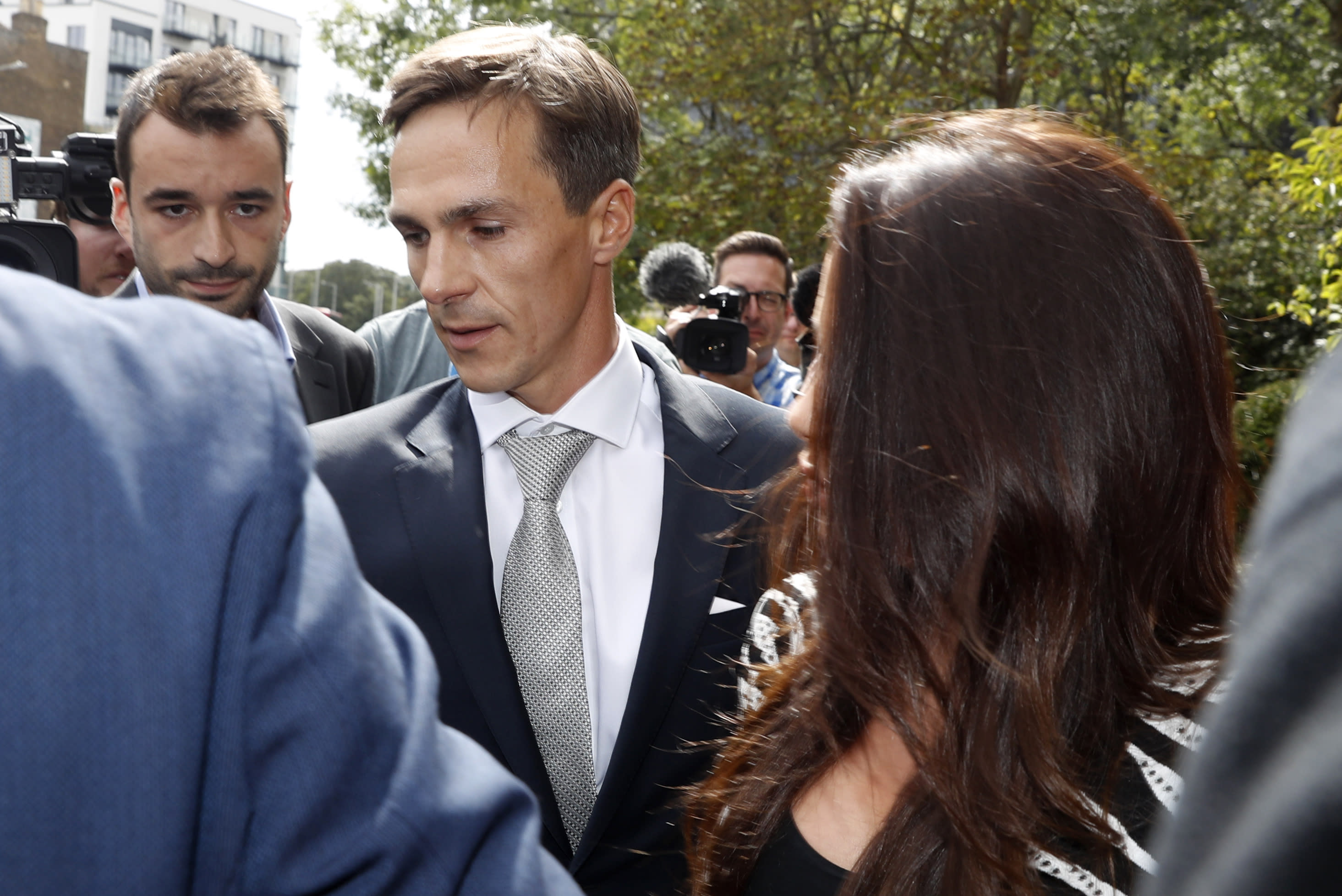 Ryder Cupper Thorbjorn Olesen pleads not guilty to sexual assault