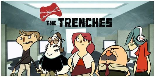 PvP and Penny Arcade bring you to The Trenches