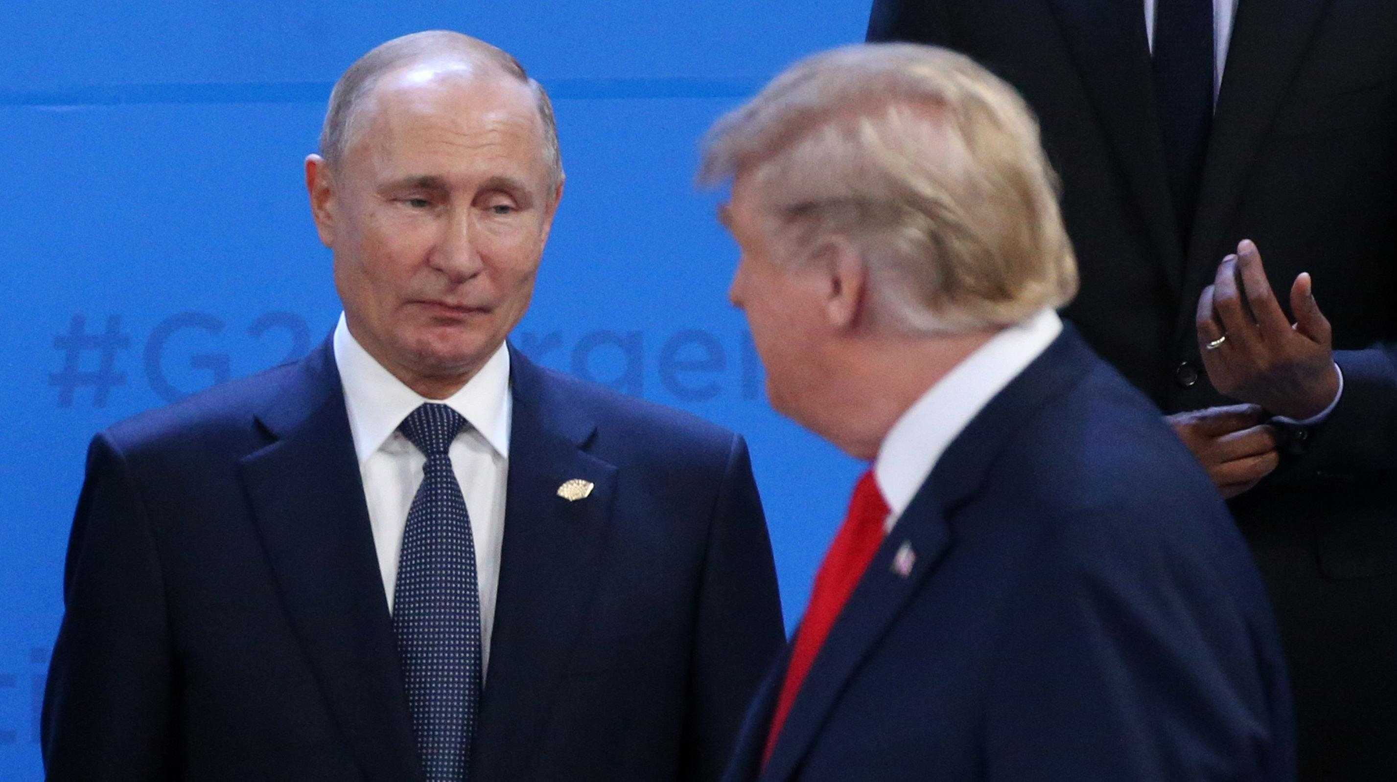 Trump Concealed Details Of Putin Meetings From Administration Officials: Report