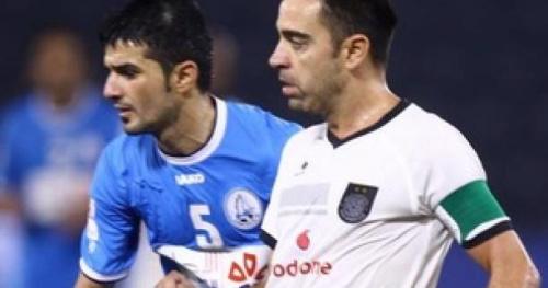 Foot - QAT - Qatar : Xavi se console avec une Coupe