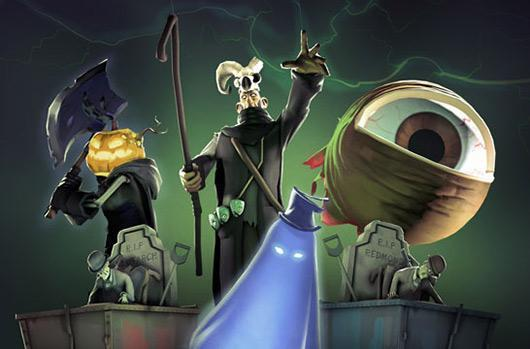 All five prior Scream Fortress maps return to Team Fortress 2