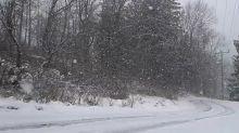 Picturesque Snow Falls Across Dundas Valley, Ontario