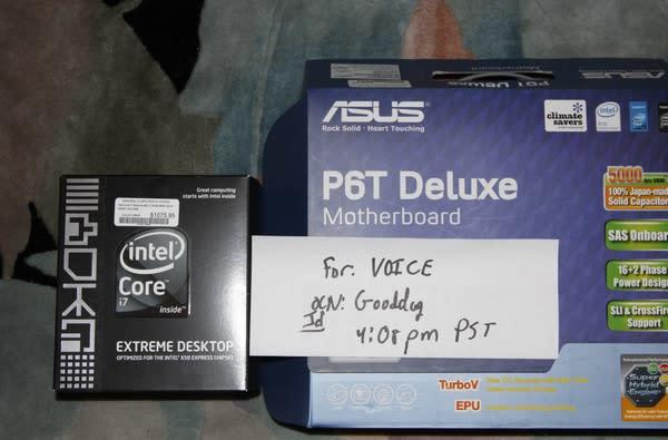 Intel's Core i7 purchased, overclocked, benchmarked