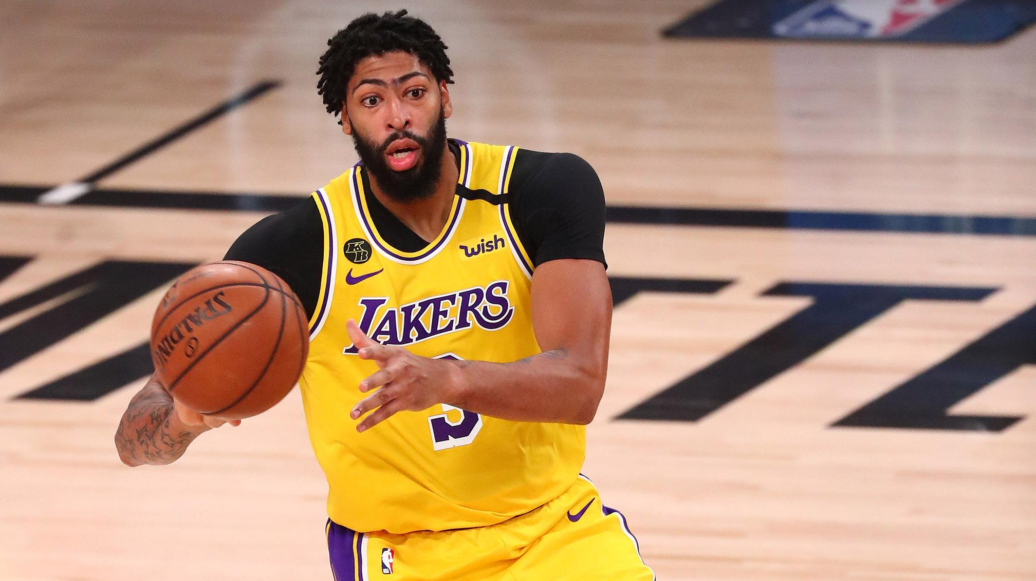 Anthony Davis, Lakers draw first blood