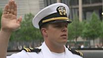 9/11 Memorial Hosts Reenlistment Ceremony