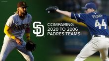 Comparing the 2006 Padres playoff team to the 2020 playoff team