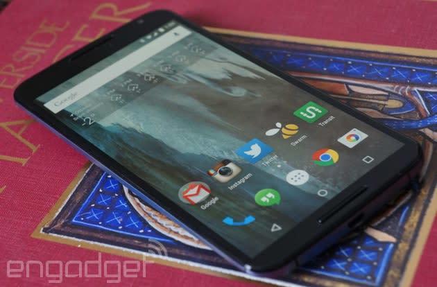 Google's Nexus 6 will finally reach Verizon on March 12th