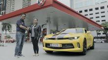 Caltex Names Winner of Transformers Promo's 2017 Chevrolet Camaro