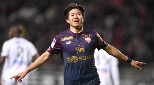 South Koreas rising star Kwon Chang-hoon scores delightful goal for Dijon in Ligue 1