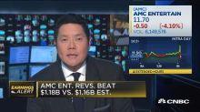 AMC Entertainment falls on weak 2017 guidance