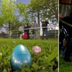 Thousands take to the dark in adult-only Easter egg hunt