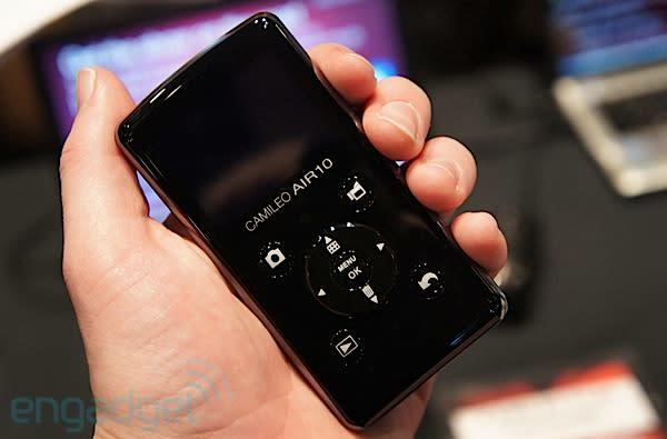 Toshiba Camileo Air10 hands-on revisited: with sample video