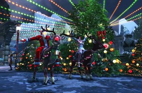 Keep celebrating Christmas with this RaiderZ event trailer