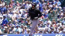 Duvall hits 2 HRs again as Marlins pound Cubs 11-1