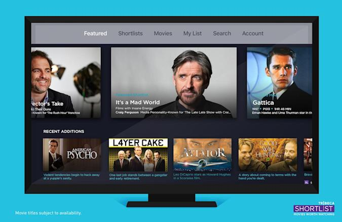 Tribeca Shortlist brings its movie-streaming app to Apple TV