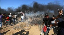 Gaza conflict: Israeli military carries out dozens of airstrikes
