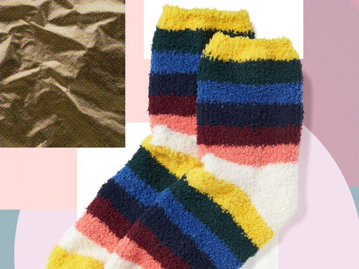 Old Navy Will Be Selling Fuzzy Socks For Just 1 On Black