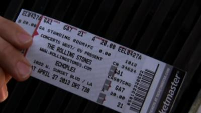 Rolling Stones Rock Surprise, Small LA Gig