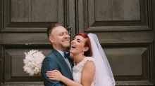 Bride and Groom Swap Wedding Attire, and the Result Is Gorgeous