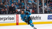 Joe Thornton played playoffs with torn ACL, MCL