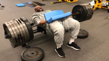 James Harrison's latest crazy workout video might be his craziest one