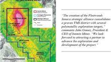 Inomin Forms Strategic Alliance on Fleetwood-Seneca Zinc-Copper-Silver-Gold Properties