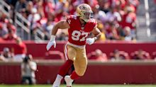 49ers' Nick Bosa says benefits of healthy offseason will show on field