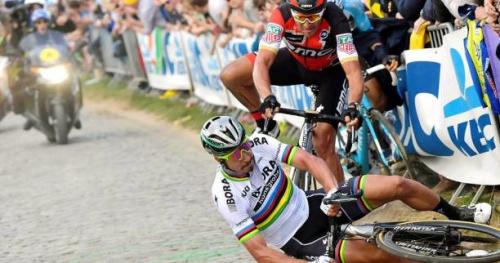 Cyclisme - Tour des Flandres - Le propriétaire de la veste qui a fait tomber Peter Sagan ne se sent «pas coupable»