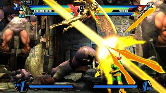 Ultimate Marvel vs. Capcom 3 lets you use the Vita as a PS3 controller