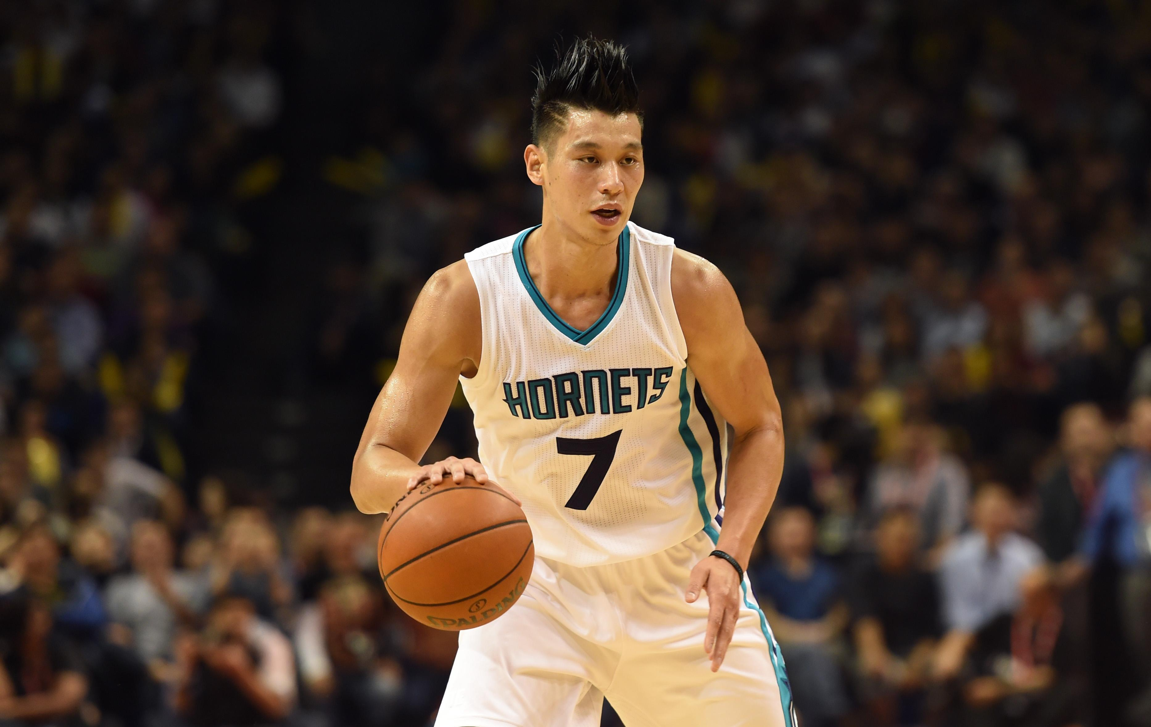 cheaper 53771 a9a97 Basket - Jeremy Lin leads Hornets to victory in Shanghai