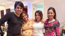 Zilu comemora aniversário com os filhos: 'Amo sem limites'