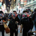 Kowloon Saturday protests at To Kwa Wan, Hung Hom and outside Mong Kok Police Station