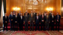 El Rey recibe al patronato de la Fundación para la Investigación de Asturias