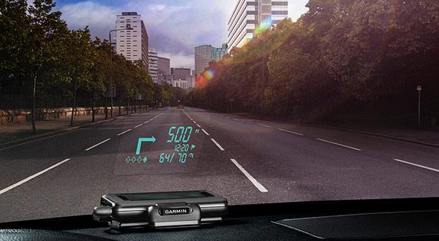 Garmin's $130 smartphone HUD limits distractions with line-of-sight directions