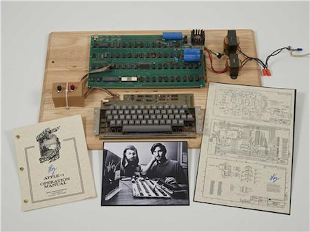 Christie's launches First Bytes auction featuring rare pieces of Apple history