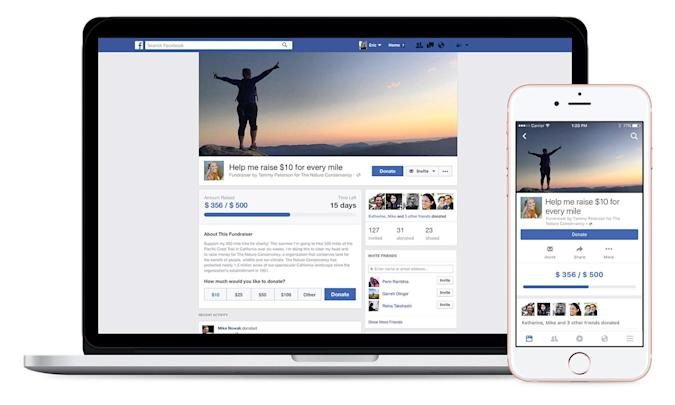 Facebook's new tool will help you raise funds for charity orgs