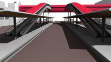 Saint-Quentin-en-Yvelines : deux nouvelles passerelles faciliteront l'accès aux quais de la gare