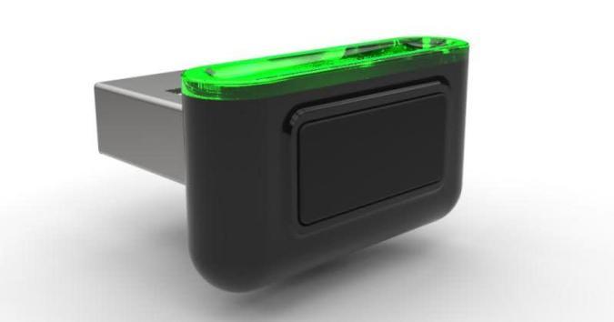 Synaptics prepara este pequeño lector de huellas USB