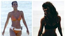 She can't be 50! Halle Berry's age-defying bikini body