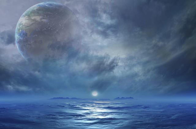 Most habitable planets may be completely covered in water