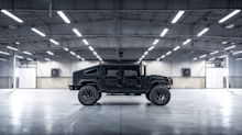 Army Inspired Mil-Spec Automotive 002 Truck Based on Hummer