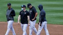 Yankees' Clint Frazier is wearing a mask whether trash-talking fans like it or not