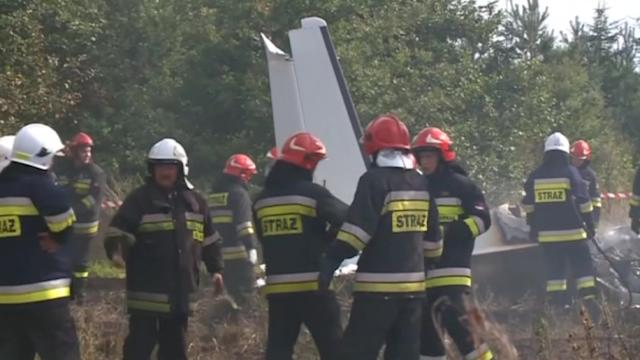 Eleven people feared killed in Polish plane crash